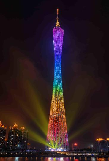 中国 广州 广州塔 Canton Tower Guangzhou China
