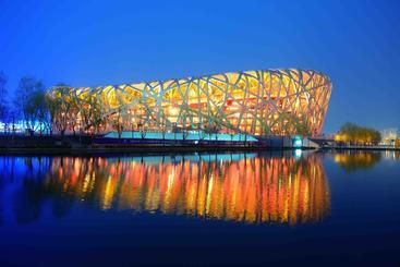 中国 北京 鸟巢 Bird Nest Beijing China