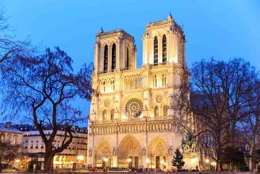 法国 巴黎圣母院 Notre Dame de Paris France