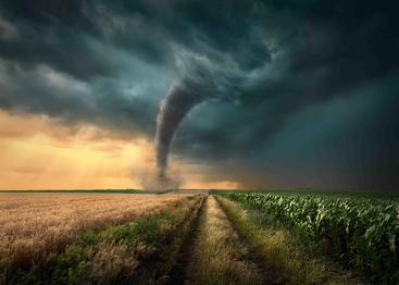 龙卷风 A tornado