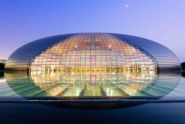 中国 北京 国家大剧院 National Grand Theater Beijing China