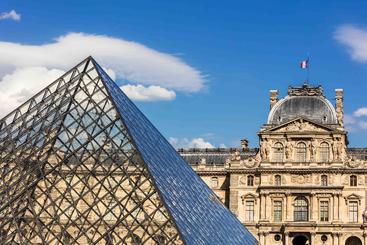 法国 巴黎 罗浮宫 The Louvre Paris France
