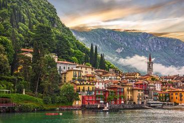 意大利 米兰 科莫湖 Como Lake Milan Italy