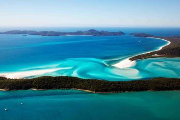 澳大利亚 怀特黑文海滩 Whitehaven Beach Australia