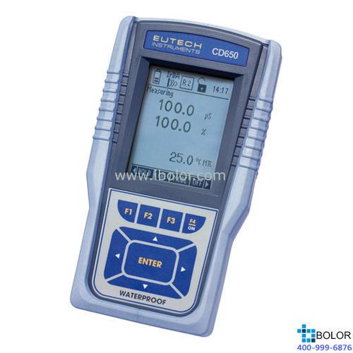 CD 650便携式电导率/TDS/盐度/电阻率/溶解氧/温度测试仪