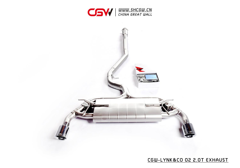 领克 02 CGW阀门排气