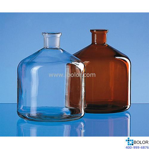 試劑瓶,適用于Schilling式自動回零滴定管,PE-LD材質,棕色,1000ml,含旋蓋 130260