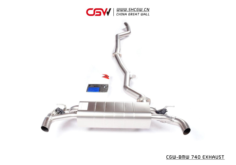 新款宝马740 中尾段阀门 CGW阀门排气