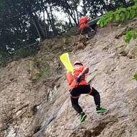 驚險崖降?。?!