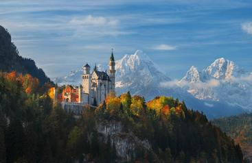 德国 新天鹅城堡 Neuschwanstein Castle Germany