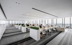 工装设计办公室形象墙招财地方,销售办公室形象墙设计