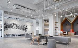 办公室装修门厅设计应注重哪些设计技巧