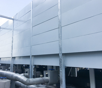 工业厂界噪音治理方案 工业降噪隔音墙