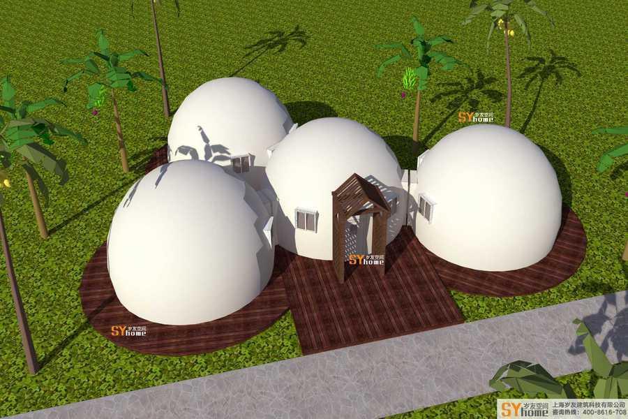 火星穹頂房屋