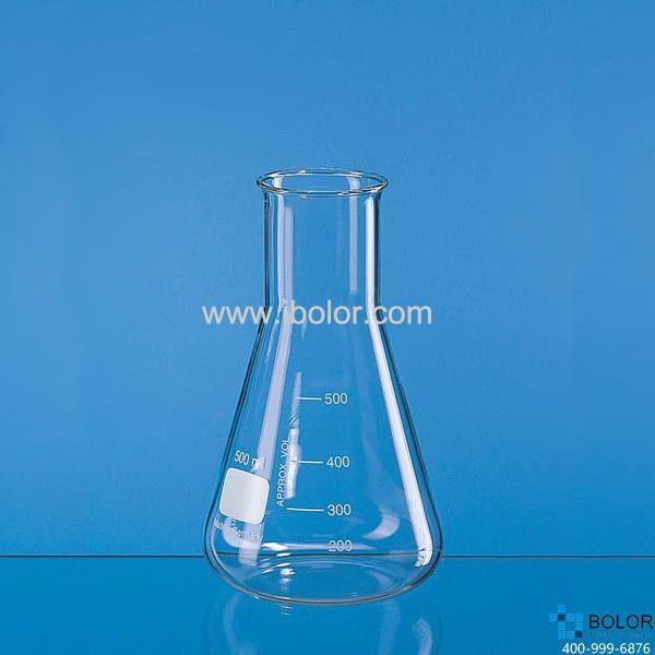 普兰德 玻璃广口锥形瓶,2000 ml,Boro 3.3,圆口 92863