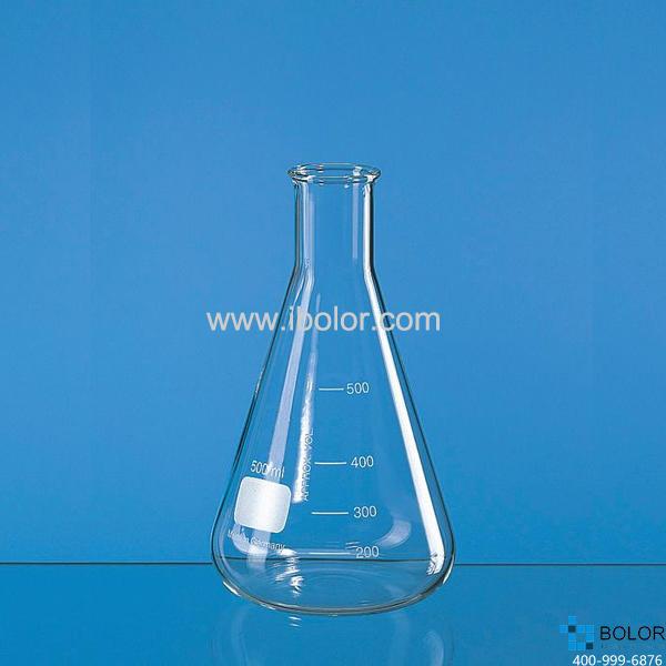 普兰德 玻璃窄口锥形瓶,5000 ml,Boro 3.3,圆口 92773