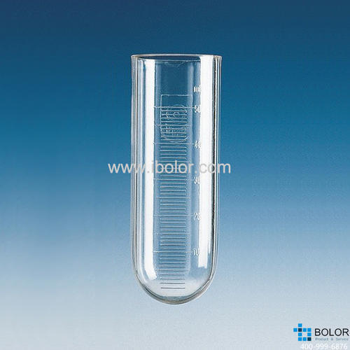PC材質離心管,100:1ml,45x 98mm,帶刻度 781040