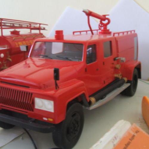 老式消防车