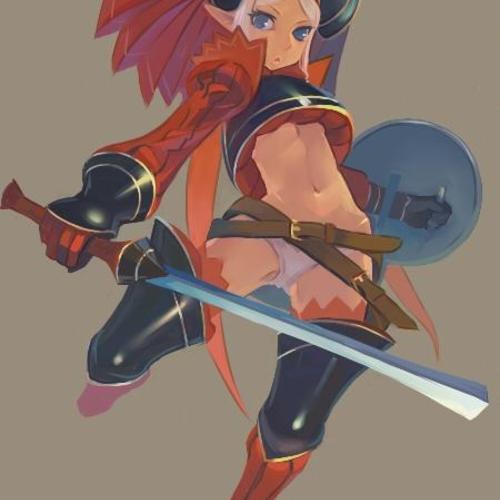 动漫女战士设计