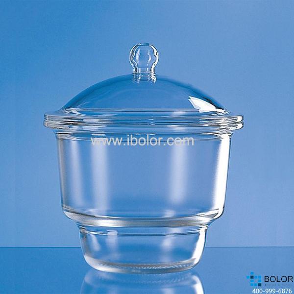 干燥器,蓋子帶握柄,標稱規格,250 mm,直徑320 mm, Boro 3.3 65043
