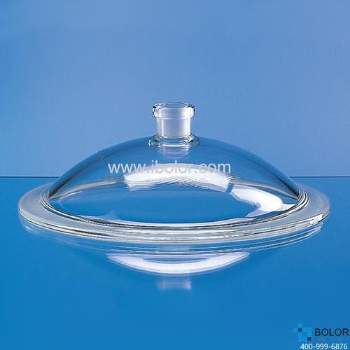 带接口干燥器盖子,24/29,标称规格,250 mm,直径320 mm, Boro 3.3 65743