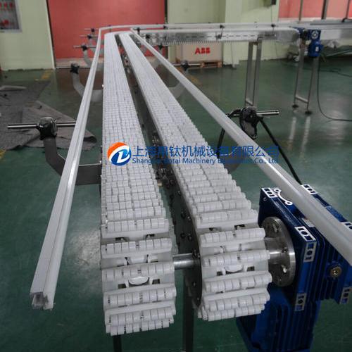 双排滚珠链板输送机系统