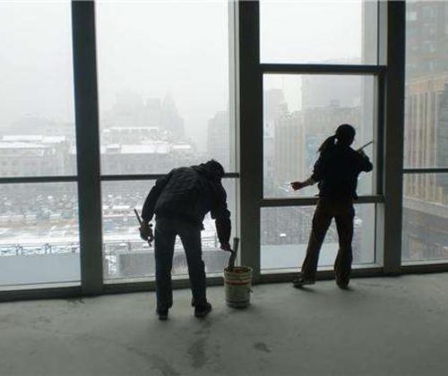 大型工程保洁-积累了专业的管理与丰富的保洁施工经验