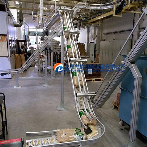爬坡高空柔性链输送线系统