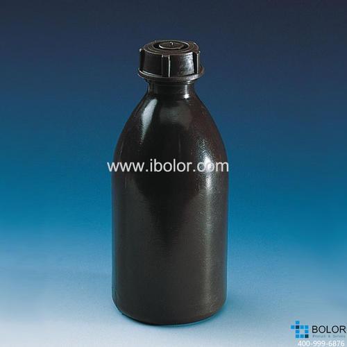 窄口瓶,PE-LD材質,2000 ml,GL 28,棕色 130264