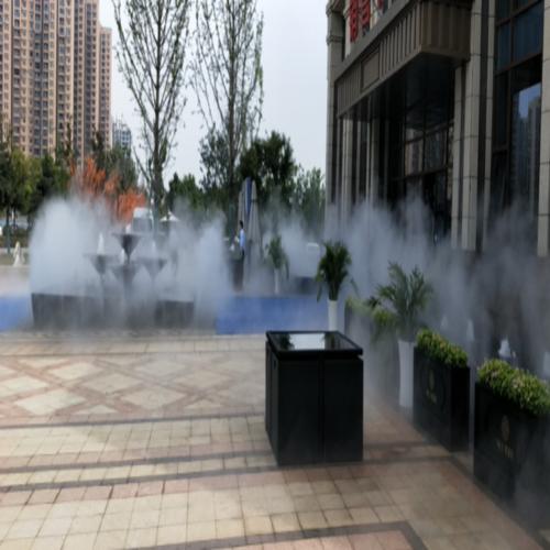恒大观澜府景观造雾项目