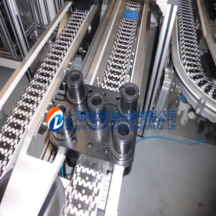 柔性钢顶链输送线系统