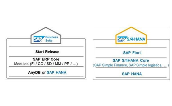 SAP S/4 HANA, SAP ECC, SAP R3, SAP厂商