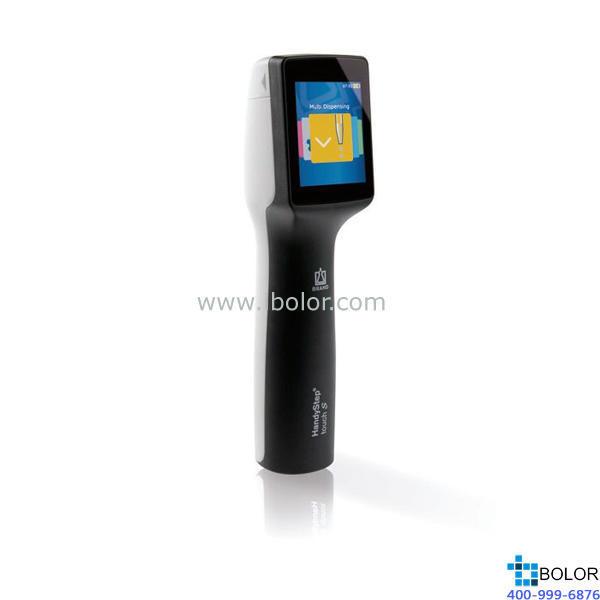 连续分液器 HandyStep® touch, DE-M 黑色;连续分液,自动分液,序列分液,连续吸液,滴定和收藏 705210