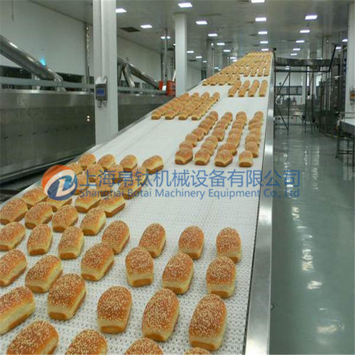 面包烘培网带输送机
