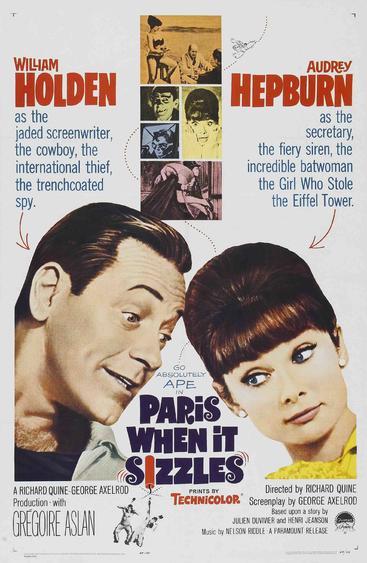 巴黎假期 Paris When It Sizzles (1964)