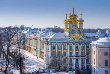 俄罗斯 圣彼得堡 凯瑟琳宫 Katherine's Palace Saint Petersburg Russia