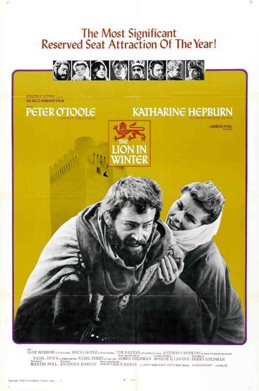 冬狮 The Lion in Winter (1968)