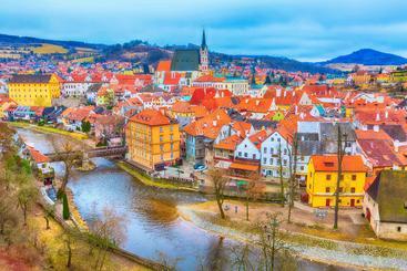 捷克 克鲁姆洛夫小镇 Czech Town Krumlov