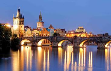 捷克 布拉格 查理大桥 Charles Bridge Prague Czech