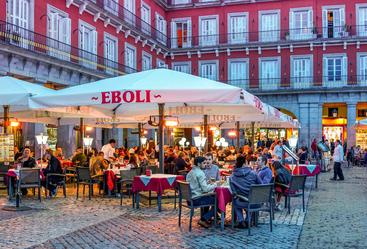 西班牙 马德里 咖啡吧 Coffee bar Madrid Spain