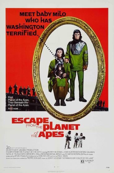逃离猩球 Escape from the Planet of the Apes (1971)