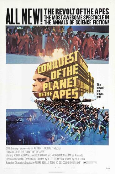 猩球征服 Conquest of the Planet of the Apes (1972)