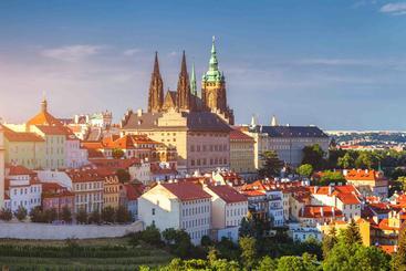 捷克 布拉格城堡和圣维图斯大教堂 Prague Castle and Saint Vitus Cathedral Czech