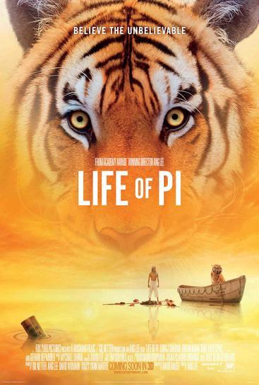 少年派的奇幻漂流  Life of Pi (2012)