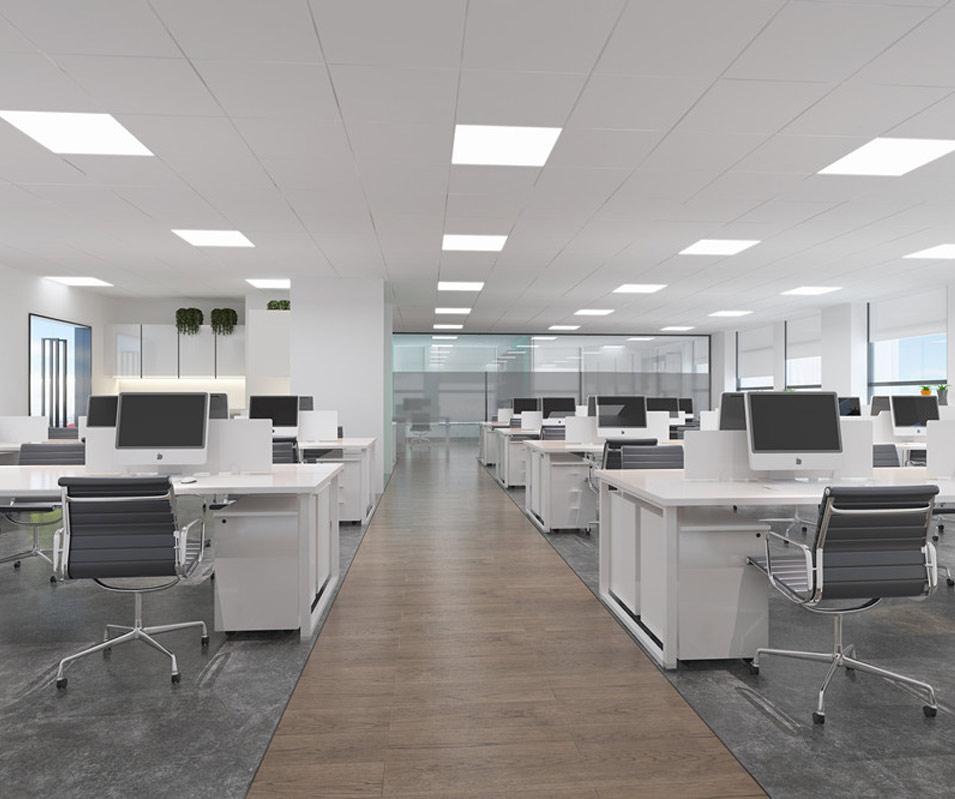 简洁明快办公室装修设计