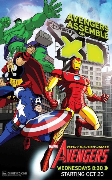 复仇者: 第一季 The Avengers Season 1 (2010)