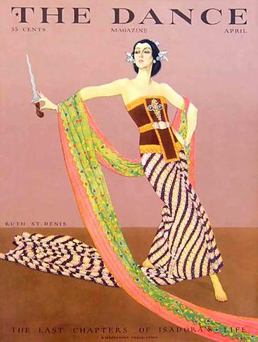 1920s USA The Dance Magazine