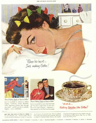 1950s USA The saturday evening post