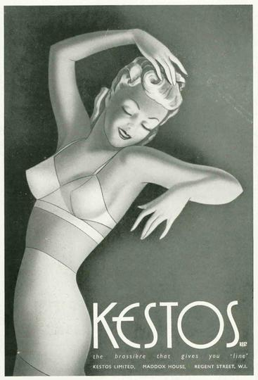 1930s UK Kestos  womens underwear bras
