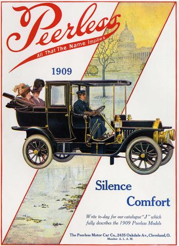 1900s USA Peerless Magazine Advert